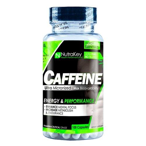 NUTRAKEY CAFFEINE 200mg 100 CAPS