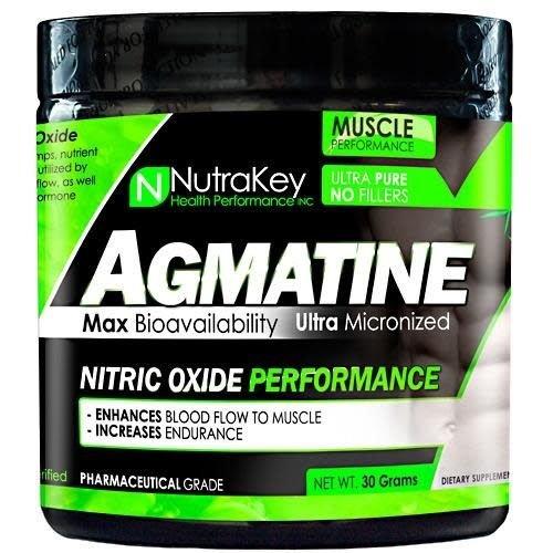 NUTRAKEY AGMATINE POWDER 30/GRAMS