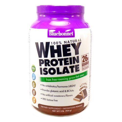 BLUEBONNET WHEY PROTEIN ISOLATE  CHOCOLATE