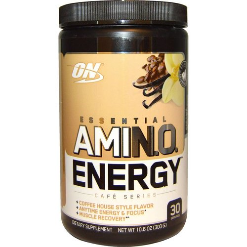 Optimum Nutrition AMINO ENERGY ICED CAFE VANILLA