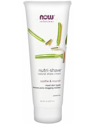 NOW FOODS NUTRI-SHAVE  8 OZ