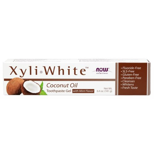NOW XYLIWHITE TOOTHPASTE COCONUT OIL