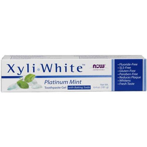 NOW XYLIWHITE MINT/BAKING SODA TOOTHPASTE 6. 4 OZ