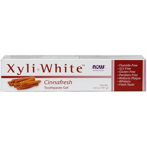 NOW XYLIWHITE CINNAFRESH TOOTHPASTE 6.4 OZ