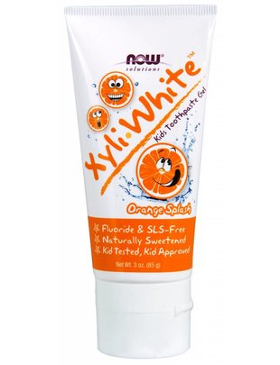 NOW FOODS KID'S XYLIWHITE TOOTHPASTE ORANGE, 3 OZ