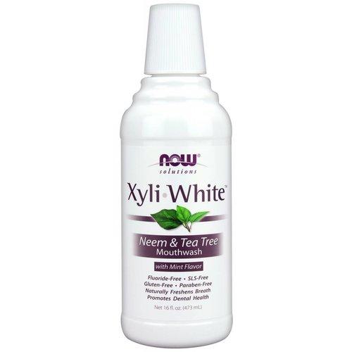 NOW XYLIWHITE NEEM & TEA TREE MOUTHWASH  16 FL OZ