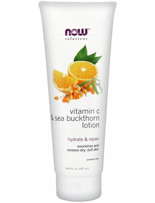 NOW FOODS VITAMIN C & SEA BUCKTHORN MOISTURIZER 2 OZ
