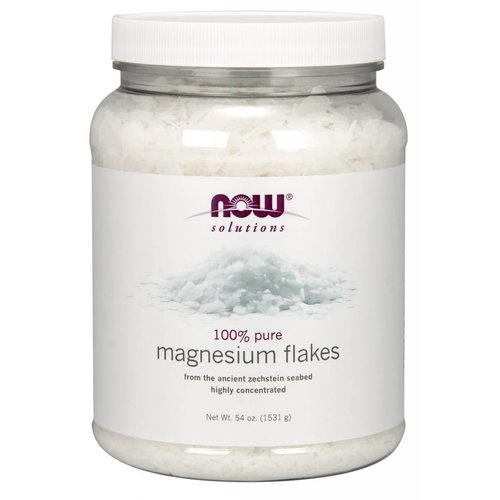 NOW MAGNESIUM FLAKES  54 OZ
