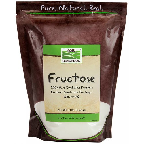 NOW FRUCTOSE  24 OZ