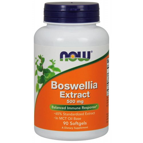 NOW BOSWELLIA EXTRACT 500MG  90 SGELS