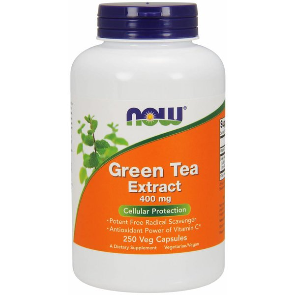 NOW GREEN TEA EXTRACT 400 mg  250 VCAPS