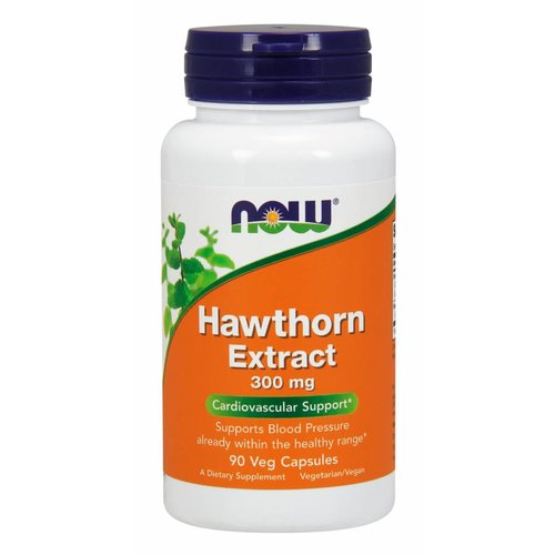 NOW Hawthorn Extract 300mg 90 caps