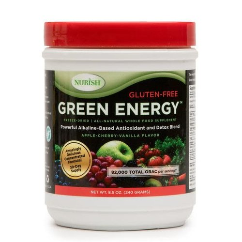 NURISH GREEN ENERGY APPLE-CHERRY-VANILLA