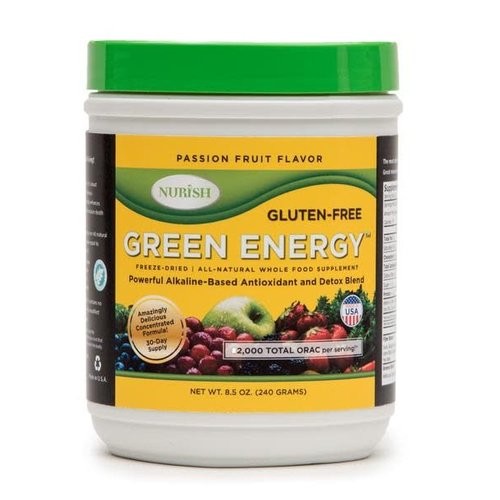 NURISH GREEN ENERGY PASSION FRUIT