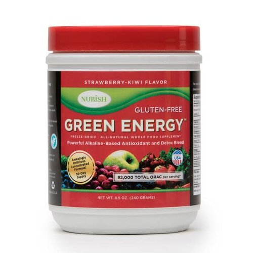 NURISH GREEN ENERGY STRAWBERRY- KIWI