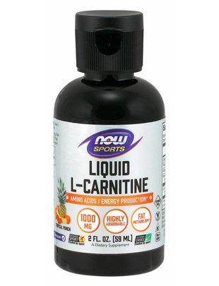 NOW FOODS LIQUID L-CARNITINE TROPICAL PUNCH 2OZ