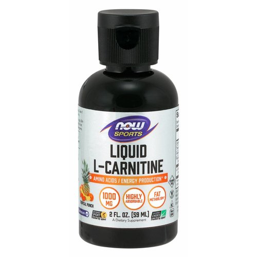 NOW LIQUID L-CARNITINE TROPICAL PUNCH 2OZ