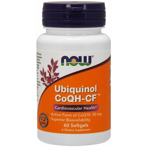 NOW CoQH-CF UBIQUINOL  60 SGELS