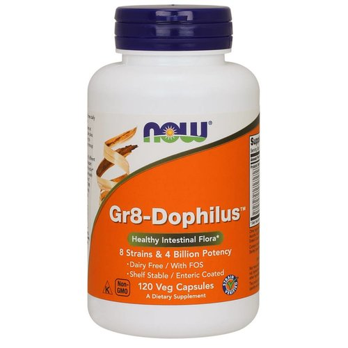 NOW GR 8 DOPHILUS - ENTERIC  120 VCAPS