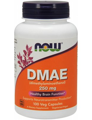 NOW FOODS DMAE 250MG   100 VCAPS
