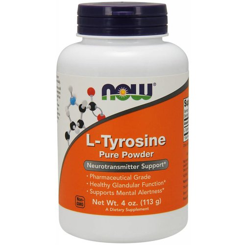 NOW TYROSINE POWDER  4 OZ