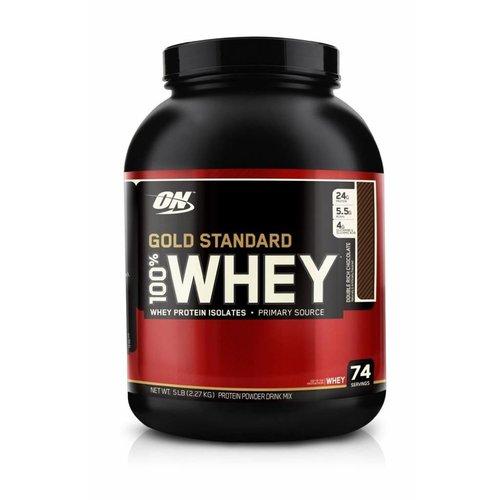 Optimum Nutrition GOLD STANDARD 5lb DOUBLE RICH CHOCOLATE