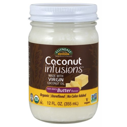 NOW COCONUT INFUSTIONS(TM) BUTTER OIL