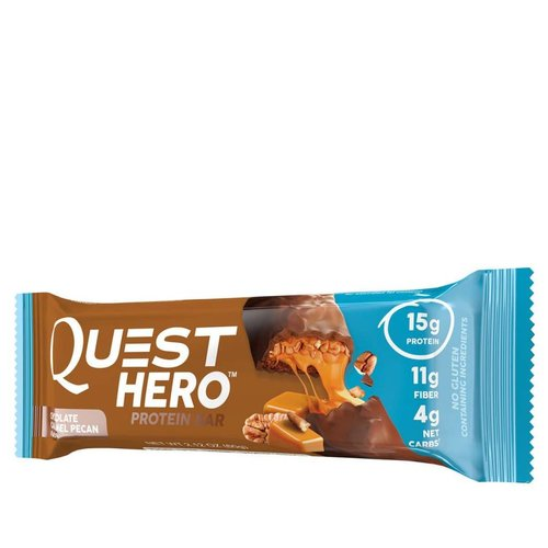 QUEST QUEST HERO CHOC CARAMEL PECON