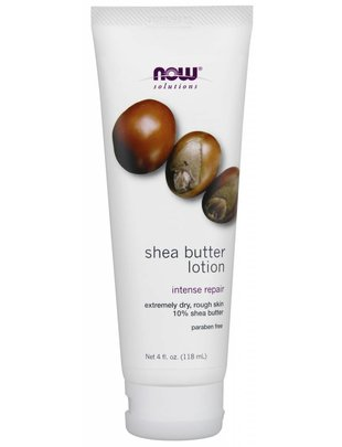 NOW FOODS SHEA BUTTER LOTION   4 OZ