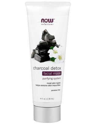 NOW FOODS CHARCOAL DETOX MASK 4oz