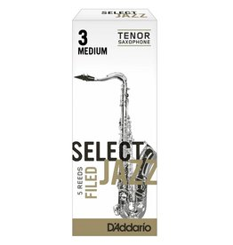 D'Addario D'Addario Select Jazz Filed Tenor Sax Reeds