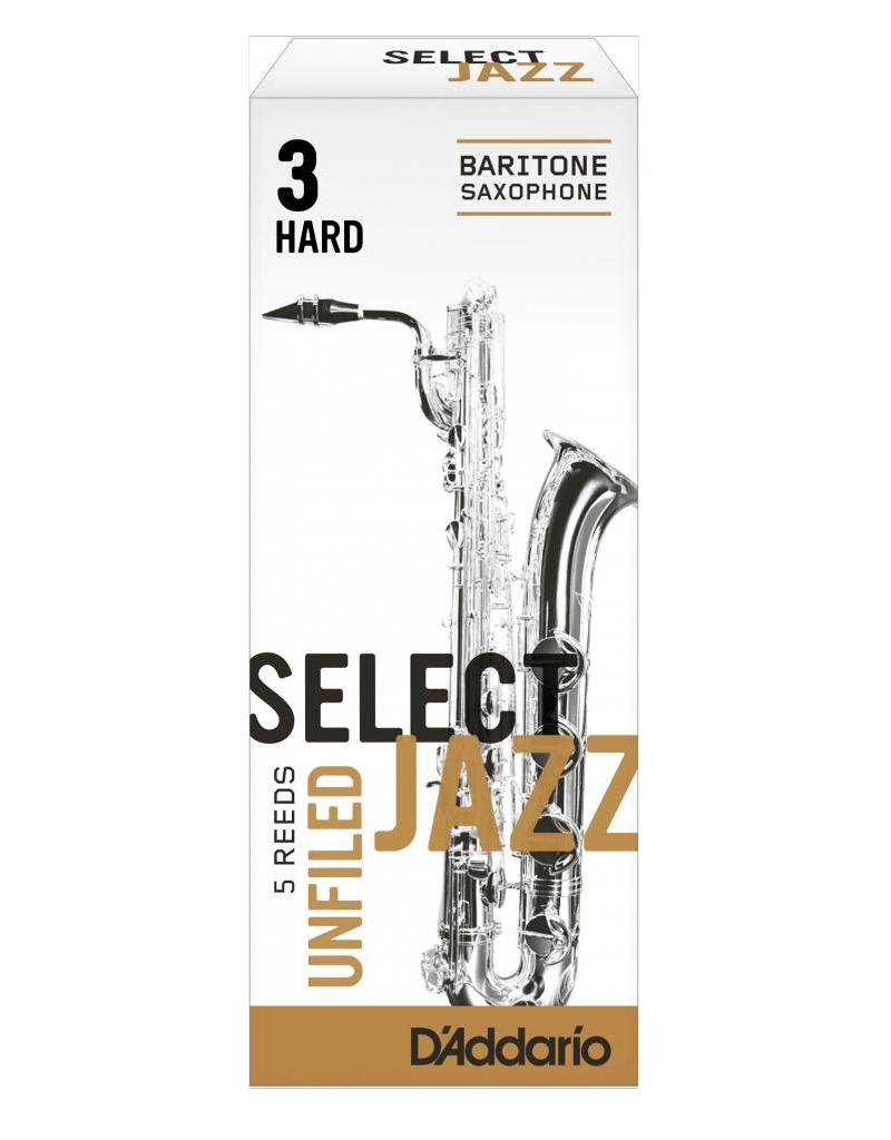 D'Addario D'Addario Select Jazz Unfiled Baritone Sax Reeds