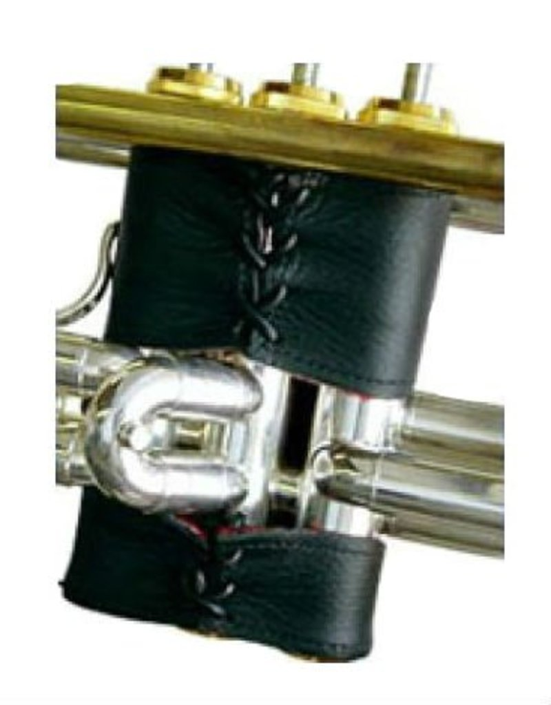 Griego Deluxe Leather Trumpet Guard w/Laced Clo