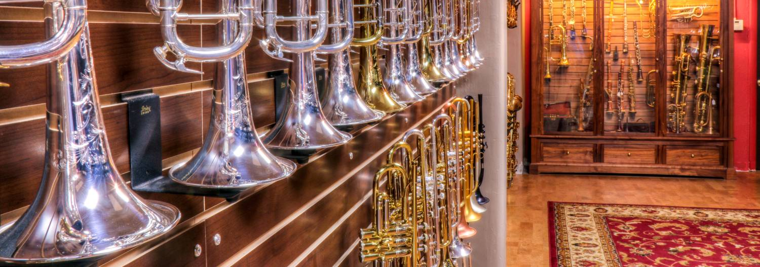 Click for our selection of Trumpets!