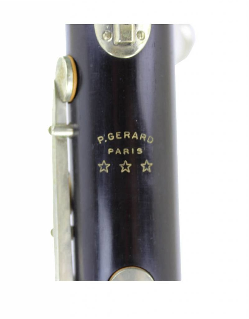 Gerard Gerard Bb Bass Clarinet to Low Eb