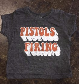 Opolis kids pistols firing retro shadow tee FINAL SALE