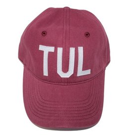 aviate TUL hat - maroon