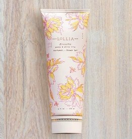 lollia breathe perfumed shower gel