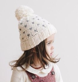 The Blueberry Hill sawyer tiny hearts hat
