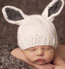 The Blueberry Hill bailey bunny knit hat FINAL SALE