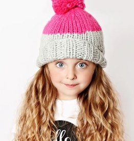 The Blueberry Hill millie knit hat
