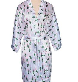 packed party champagne robe - one size