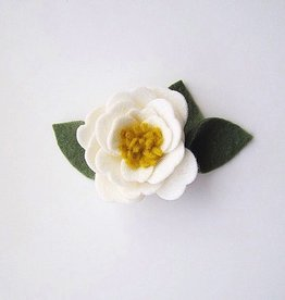 little wild petals peony flower clip or headband