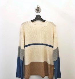 callie colorblock sweater