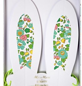 meri meri liberty spring bunny ears FINAL SALE