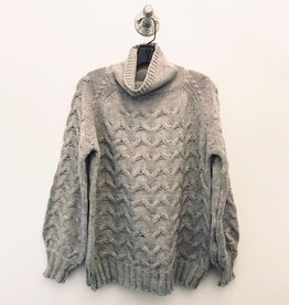 megan mock turtleneck sweater
