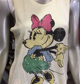 hawaiian minnie mouse tank FINAL SALE