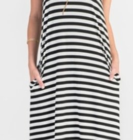 striped strappy maxi FINAL SALE