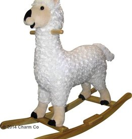 lorenzo rocking llama