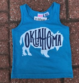 LivyLu kids oklahoma bison tank FINAL SALE